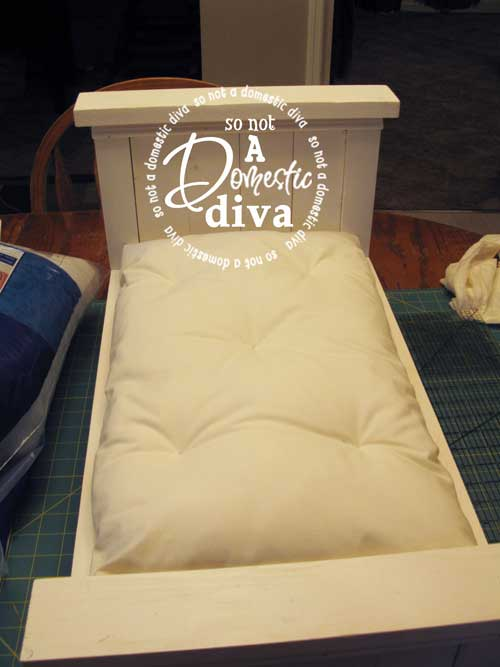 Bedding Basics Mattress Amp Pillows For Doll Bed